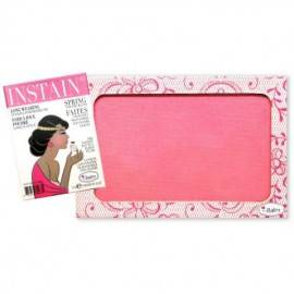 THE BALM RÓŻ PUDROWY INSTAIN BRIGHT PINK (LACE)
