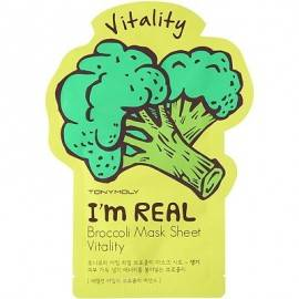 TONYMOLY I'M REAL MAS/TW 21G BROCCOLI