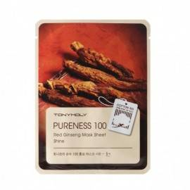 TONYMOLY PURENESS MAS/TW 21G RED GINSENG