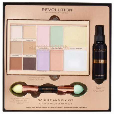 REVOLUTION ZESTAW SCULPT&FIX KIT