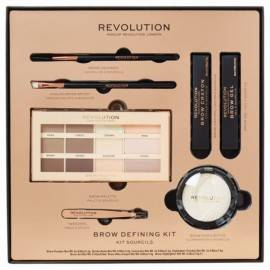 MAKEUP REVOLUTION ZESTAW BROW DEGINING KIT