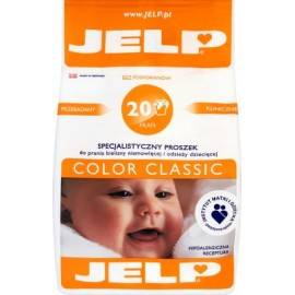 JELP HIPOALERGICZNY PROSZEK DO PRANIA COLOR CLASSIC 1,6 KG