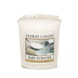 YANKEE CANDLE VOTIVE BABY POWDER 49G