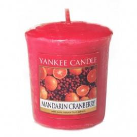 YANKEE CANDLE VOTIVE MANDARIN CRANBERRY 49G