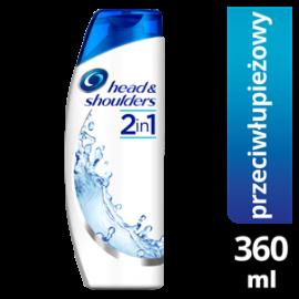 HEAD&SHOULDERS CLASSIC CLEAN 2W1 SZAMPON PRZECIWŁUPIEŻOWY 360ML