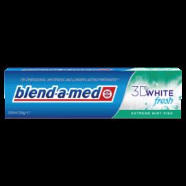 BLEND-A-MED 3DWHITE FRESH EXTREME MINT KISS PASTA DO ZĘBÓW 100 ML