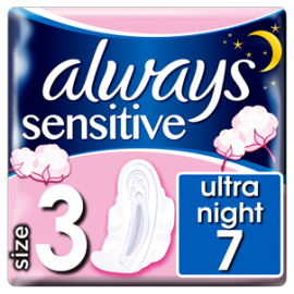 ALWAYS PODP.ULTR.A. 7 NIGHT SENSITIVE