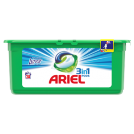 ARIEL TOUCH OF LENOR FRESH KAPSUŁKI DO PRANIA 28 PRAŃ