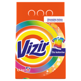 VIZIR COLOR PROSZEK DO PRANIA KOLOR 1.5KG (20)