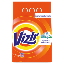 VIZIR ALPINE FRESH PROSZEK DO PRANIA 1.5KG (20)