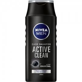 NIVEA SZAMPON DO WŁOSÓW FOR MEN ACTIVE CLEAN 250 ML