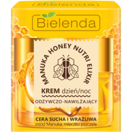 BIELENDA MANUKA HONEY NUTRI KREM DO TWARZY  DZIEŃ I NOC 50ML