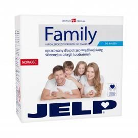 JELP FAMILY HIPOALERGICZNY PROSZEK DO PRANIA DO BIAŁEGO 2,24KG