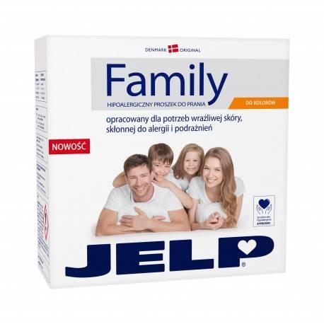 JELP FAMILY HIPOALERGICZNY PROSZEK DO PRANIA DO KOLORU 2,24KG