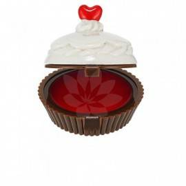HOLIKA DESET TIME LIP BALM RED CUP CAKE
