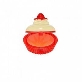 HOLIKA DESET TIME LIP BALM ORANGE CUP CAKE
