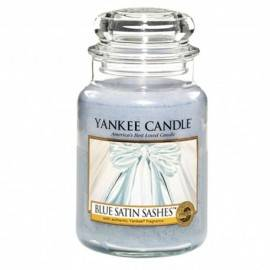 YANKEE CANDLE ŚWIECA  BLUE SATIN SASHES 623G