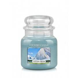 COUNTRY CANDLE ŚWIECA  COTTON FRESH 453G
