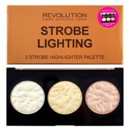 MAKEUP REVOLUTION STROBE LIGHTING PALETTE ROZŚWIETLACZE DO TWARZY