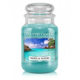 COUNTRY CANDLE ŚWIECA  TROPICAL WATERS 652G