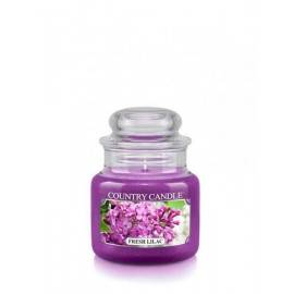 COUNTRY CANDLE ŚWIECA  FRESH LILAC 104G