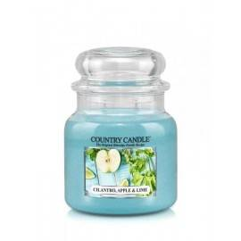 COUNTRY CANDLE ŚWIECA  CILANTRO,APPLE& LIME 453G