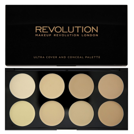 MAKEUP REVOLUTION ULTRA COVER AND CONCEALER PALETTE KOREKTORY LIGHT