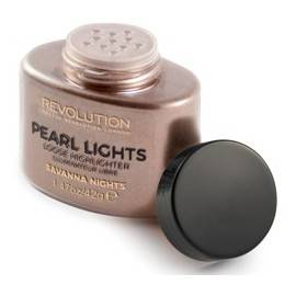 MAKEUP REVOLUTION PEARL LIGHTS LOOSE HIGHLIGHTER PUDER ROZŚWIETALAJĄCY SAVANNA NIGHTS