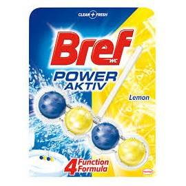 BREF POWER ACTIV ZAWIESZKA DO WC 50G LEMON