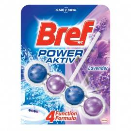 BREF POWER ACTIV ZAWIESZKA DO WC 50G LAVENDER