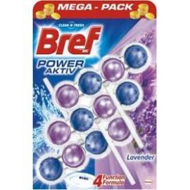 BREF POWER ACTIV ZAWIESZKA DO WC 3X50G LAVENDER