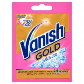 VANISH GOLD OXI ACTION ODPLAMIACZ DO TKANIN 30G
