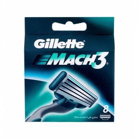 GILLETTE MACH3 WKŁAD X8