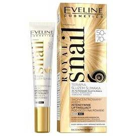 EVELINE ROYAL SNAIL KREM P.OCZY 15ML 50+ 70+