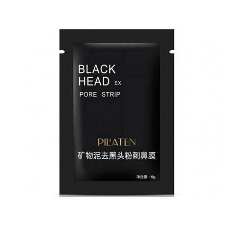 PILATEN BLACK HEAD MASECZKA DO TWARZY CZARNA 6G OCZYSZCZAJĄCA