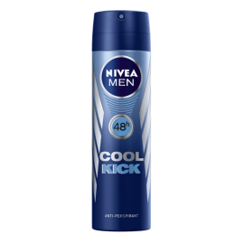 NIVEA MEN COOL KICK DEZODORANT W SPRAYU 150 ML