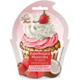 MARION BĄBELKUJĄCA MASECZKA STRAWBERRY & COCONUT CAKE – NAWILŻAJĄCA 6G
