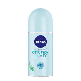 NIVEA WOMEN ENERGY FRESH ANTYPERSPIRANT W KULCE 50 ML