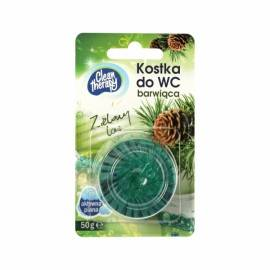 CLEAN THERAPY KOSTKA BARWIĄCA DO WC ZIELONY LAS 50G