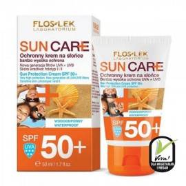 FLOSLEK SUN CARE OCHRONNY KREM DO OPALANIA SPF50+ 50ML