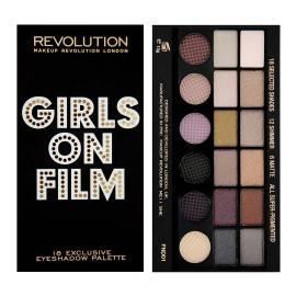 MAKEUP REVOLUTION  PALETA 18 CIENI DO POWIEK GIRLS ON FILM