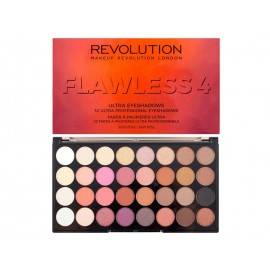 MAKEUP REVOLUTION  PALETA 32 CIENI DO POWIEK FLAWLESS 4