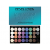MAKEUP REVOLUTION  PALETA 32 CIENI DO POWIEK MERMAIDS FOREVER