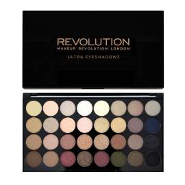 MAKEUP REVOLUTION  PALETA 32 CIENI DO POWIEK FLAWLESS