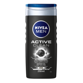 NIVEA MEN ACTIVE CLEAN ŻEL POD PRYSZNIC 250 ML
