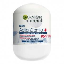 GARNIER ACTION CONTROL+ CLINICALLY 96H ANTYPERSPIRANT ROLL-ON 50ML