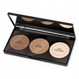 GOLDEN ROSE CONTOUR POWDER PALETA DO KONTUROWANIA