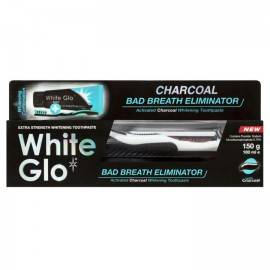 WHITE GLO CHARCOAL BAD BREATH ELIMINATOR NIE ŚWIEŻEGO ODDECHU 100G