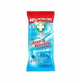 GREEN SHIELD GLASS&WINDOW NAWILŻONE CHUSTECZKI DO SZYB I SZKŁA 70S