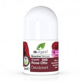 DR ORGANIC ROSE OTTO DEZODORANT  ROLL ON 50 ML